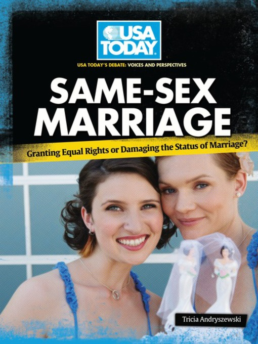 Fact focus in marriage same sex state united