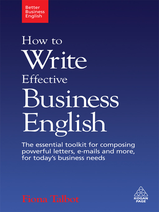 How to write business letters and e mails