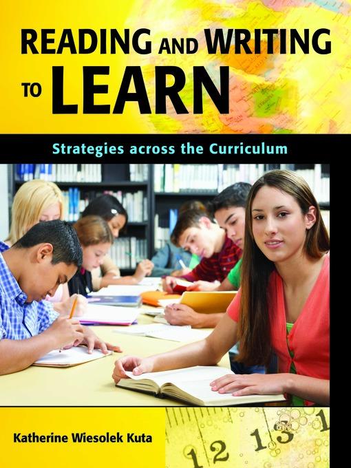 Щелкните здесь для просмотра полноразмерного изображения обложки reading and writing to learn