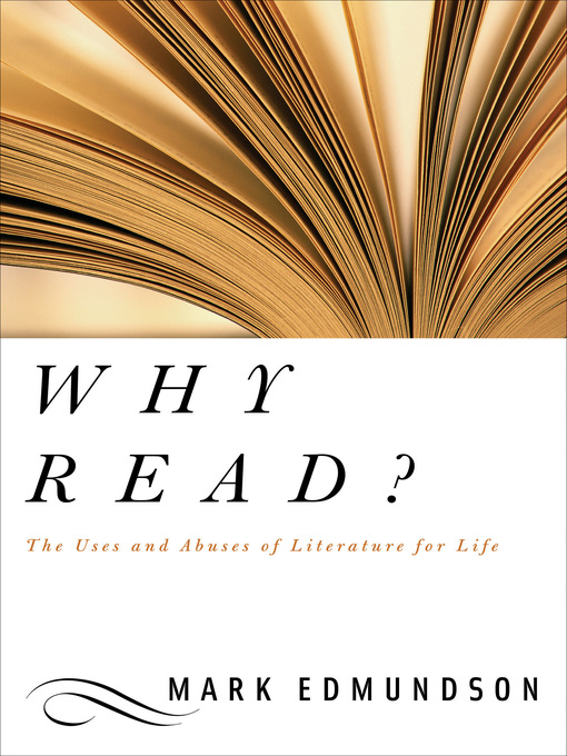 an overview of the work by mark edmundson A literary analysis of on the uses of a liberal education by mark edmundson mark edmundson, liberal education.