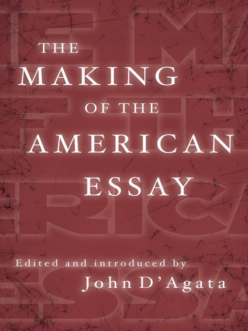 Best American Essays Of The Century - Do write my paper
