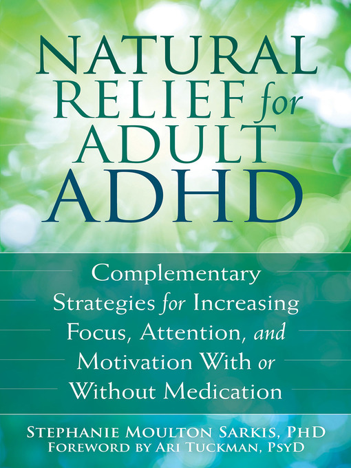 Reading strategies for adults with add