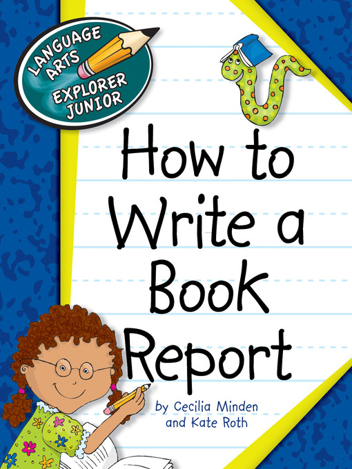 how to write a book report The art of writing a book review when writing a book review a student has to keep in mind that, in a contrary to the report, the review is not a content summary and there is no point in retelling the story.