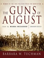 """the events that shaped modern world warfare in the guns of august a book by barbara tuchman Barbara tuchman closed """"the guns of august,"""" closer to the 50th anniversary of that war, writing, """"the nations were caught in a trap a trap from which there was, and has been, no exit"""" but there is a force more powerful than the governments of all these nations: the power of people everywhere, saying no war is not the answer to conflict."""