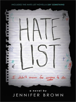 cover image of Hate List