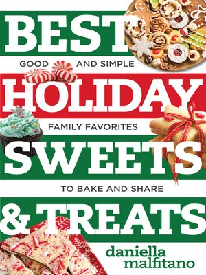 cover image of Best Holiday Sweets & Treats