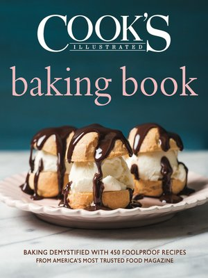 cover image of Cook's Illustrated Baking Book