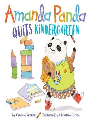 cover image of Amanda Panda Quits Kindergarten