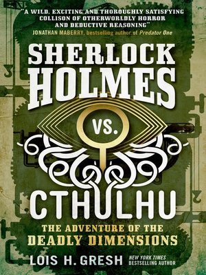 cover image of Sherlock Holmes vs. Cthulhu