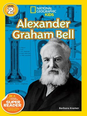 cover image of National Geographic Readers: Alexander Graham Bell
