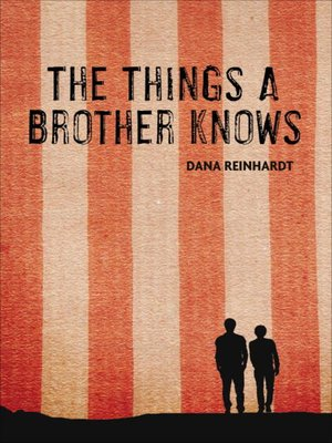 cover image of The Things a Brother Knows