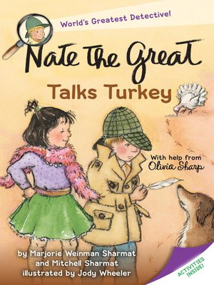 cover image of Nate the Great Talks Turkey