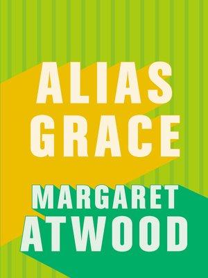 cover image of Alias Grace