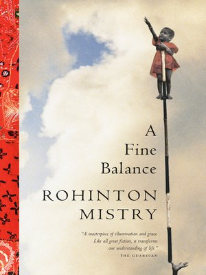 cover image of A Fine Balance