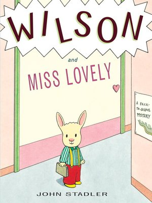 cover image of Wilson and Miss Lovely