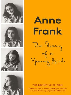 cover image of The Diary of a Young Girl