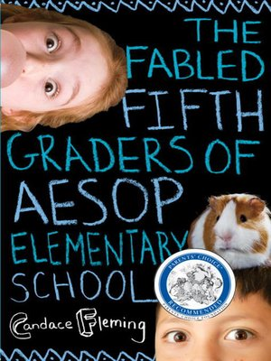 cover image of The Fabled Fifth Graders of Aesop Elementary School