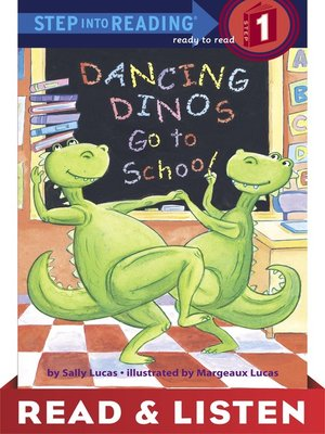 cover image of Dancing Dinos Go to School