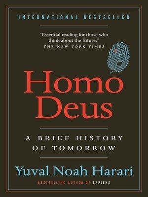 cover image of Homo Deus