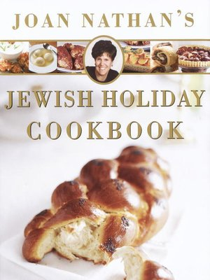cover image of Joan Nathan's Jewish Holiday Cookbook