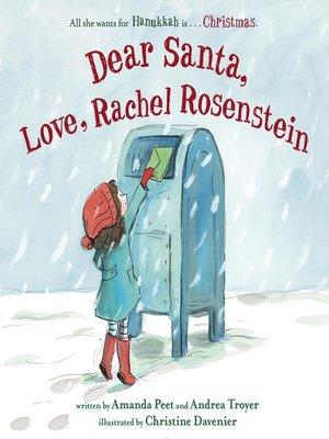 cover image of Dear Santa, Love, Rachel Rosenstein