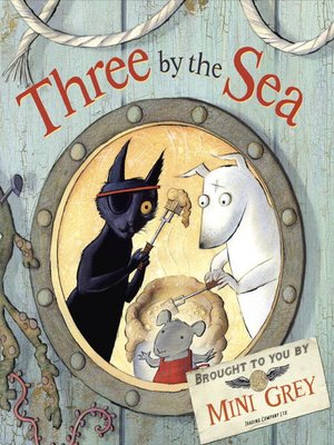 cover image of Three by the Sea