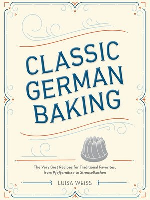 cover image of Classic German Baking