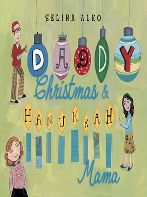 cover image of Daddy Christmas and Hanukkah Mama