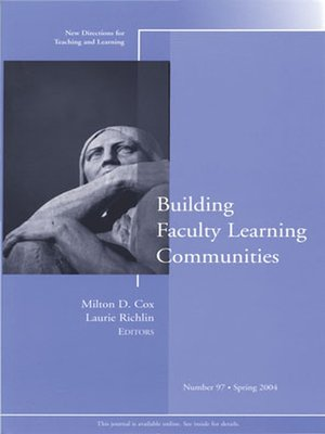 cover image of Building Faculty Learning Communities