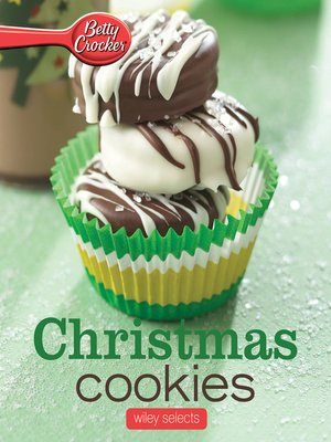 cover image of Betty Crocker Christmas Cookies