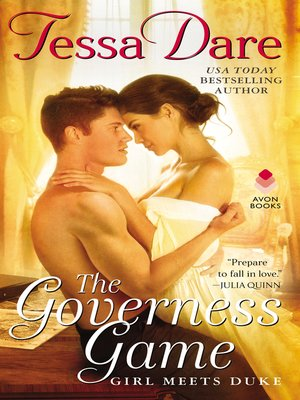 cover image of The Governess Game