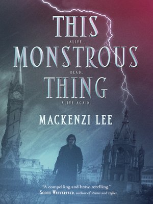 cover image of This Monstrous Thing