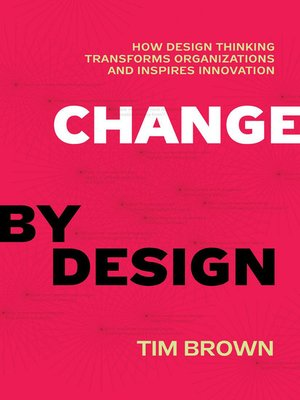 cover image of Change by Design