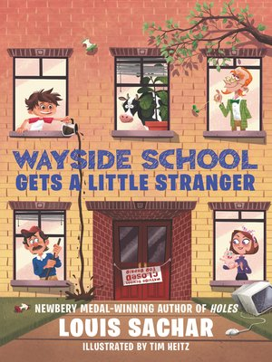 cover image of Wayside School Gets a Little Stranger