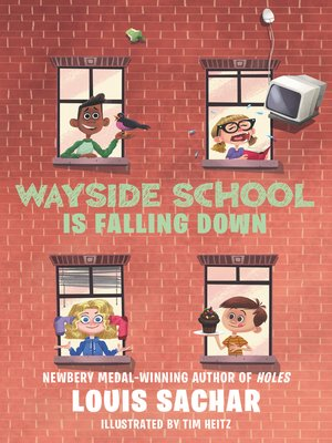 cover image of Wayside School Is Falling Down
