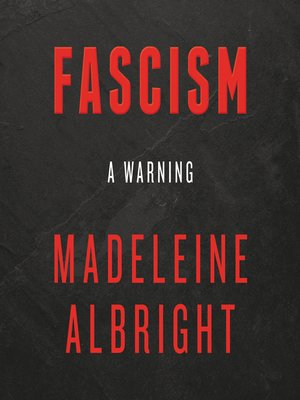 cover image of Fascism: A Warning