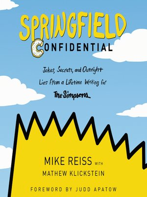 cover image of Springfield Confidential