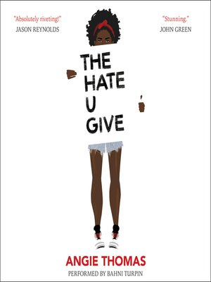 cover image of The Hate U Give
