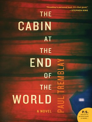 cover image of The Cabin at the End of the World