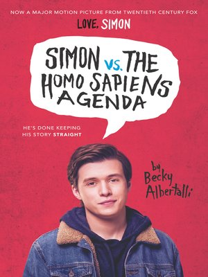 cover image of Simon vs. the Homo Sapiens Agenda