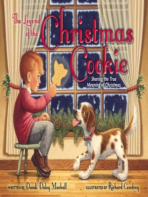 cover image of The Legend of the Christmas Cookie