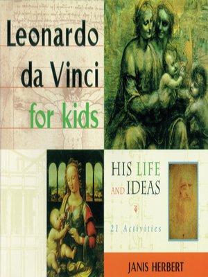cover image of Leonardo da Vinci for Kids