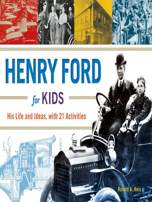 cover image of Henry Ford for Kids
