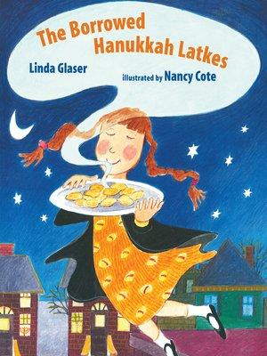 cover image of The Borrowed Hanukkah Latkes