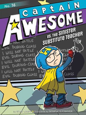 cover image of Captain Awesome vs. the Sinister Substitute Teacher