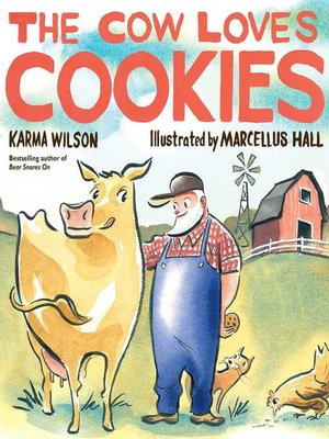 cover image of The Cow Loves Cookies