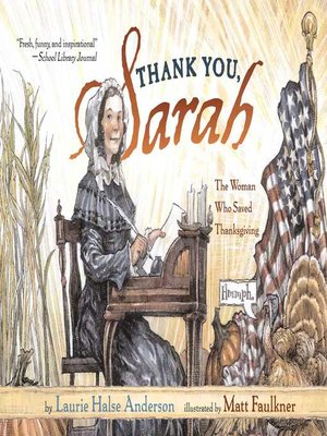 cover image of Thank You, Sarah