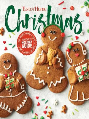 cover image of Taste of Home Christmas 2E