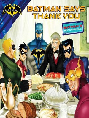 cover image of Batman Says Thank You