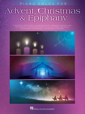 cover image of Piano Solos for Advent, Christmas & Epiphany